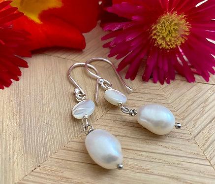 Pearls of Wisdom Earrings