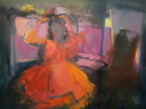 Ursula O'Farrell - Prom Night 30x40""