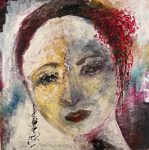 "Martine Mahoudeau - Carmen, 13x13"""