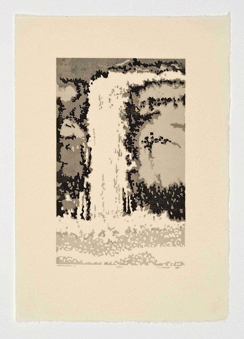 "Susan Howe - Waterfall, 16x12"""