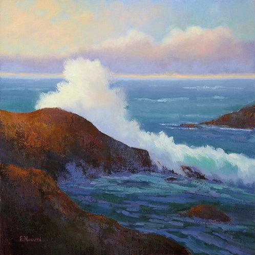 """Ellen Howard - Rogue Wave, 20x20"""""""