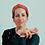 "Thumbnail: Reid Winfrey - The Red Scarf, 28x30"""