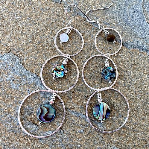 Triple Threat - Earrings