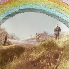 SOLD - Marie Cameron, More Rainbows Less Fires 2