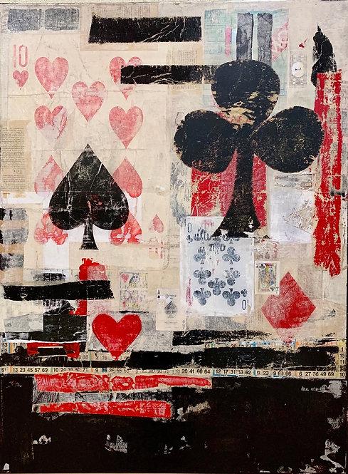 Lorraine Lawson - Table Stakes, 48x36