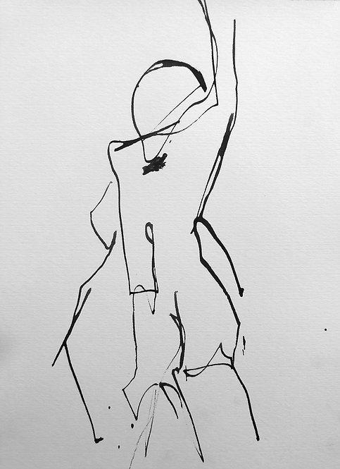 Gail Ragains Line Gesture # 5