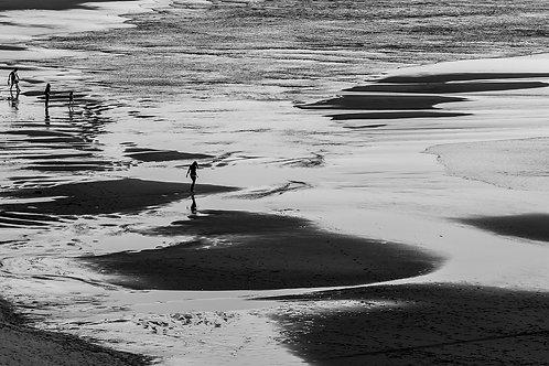 """Tim Matthews- Ocean Beach, 22x30"""""""