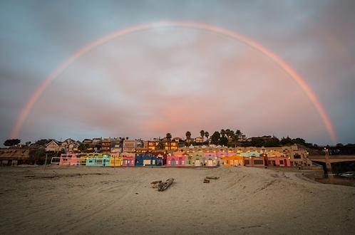 """Neil Simmons - Capitola Venetian Rainbow 12x18"""""""