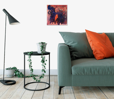 SOLD - Lou Bermingham, Copper and Fire