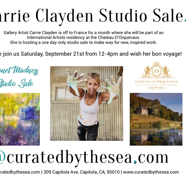Carrie Clayden Studio Sale