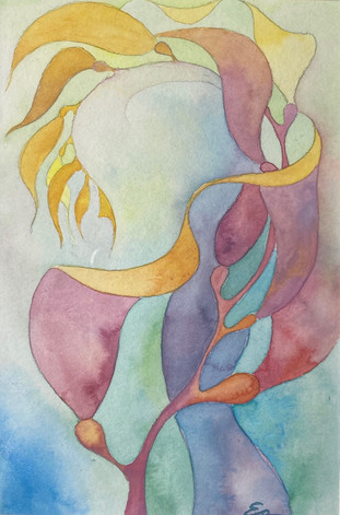 SOLD - Ea Eckerman, Rainbow Kelp