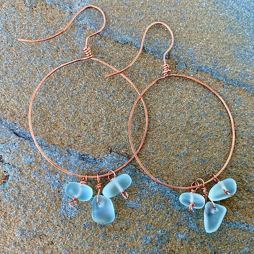 Seaglass Serendipity - Earrings