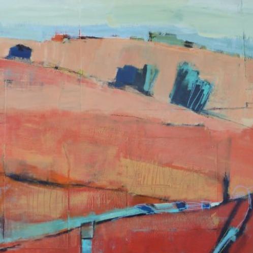 """Gail Ragains - Windy Hill II 36x36"""""""