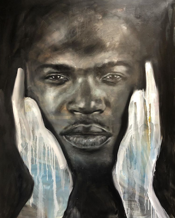 """Russell Powell - Eyes of the Beholder, 48x36"""""""