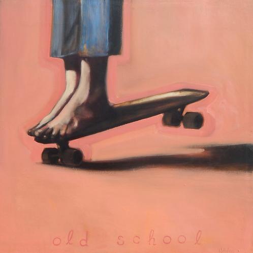 "Reid Winfrey - Old School, 30x30"""