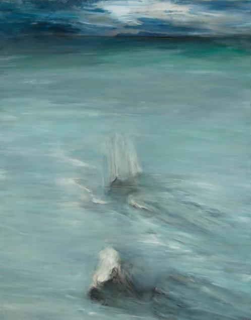 "Margaret Rinkovsky - Margaret Coastal Site 2, 60x48"""