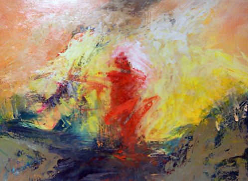 """Ursula O'Farrell - Within the Wave, 30x40"""""""