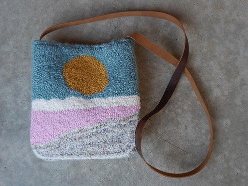 "Terry McInerney - Sunrise Leather Carpet Bag, 10x1x12"""