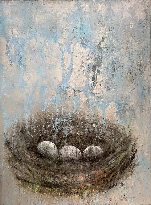 Melissa Kreisa - Wild Rain, 40x30