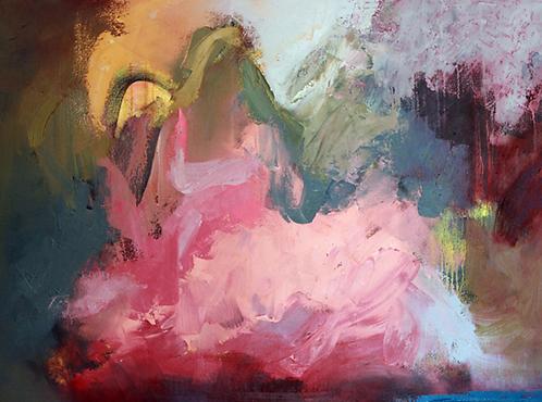 "Ursula O'Farrell - Dancer in Moonlight,  30x40"""