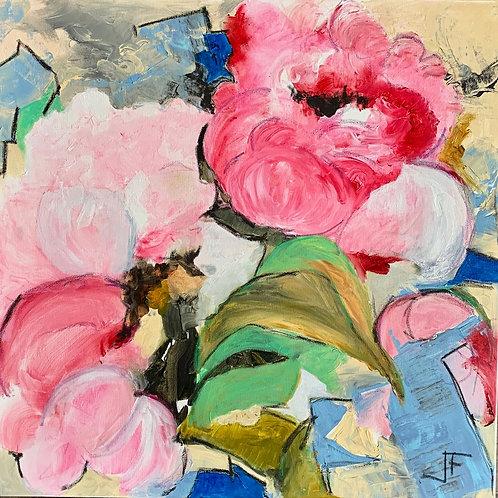 """Jane Ferguson - Birthday Bouquet, 20x20"""""""