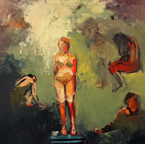 "Ursula O'Farrell - Dream Sequence (Matisse), 36 x 36"""