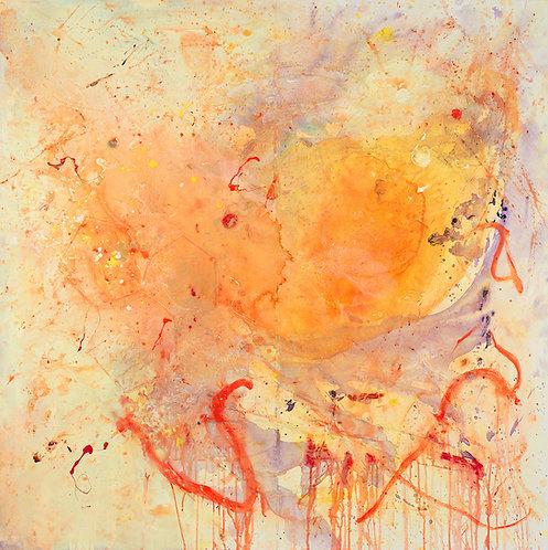 "Lou Bermingham - Flow 48x48"""