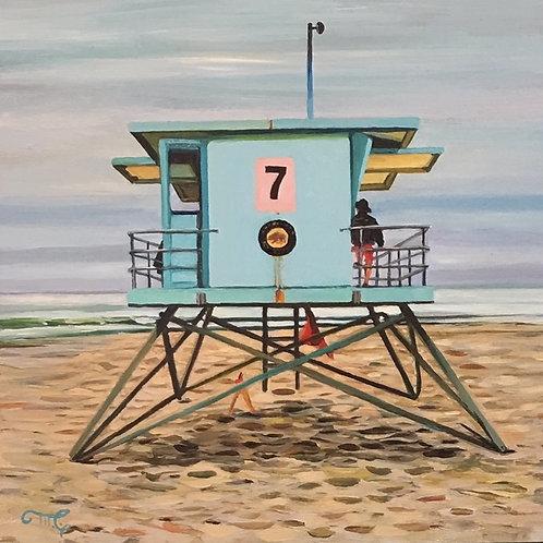 "Marie Cameron - Lifeguard Stand 7 6x6"""