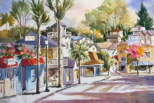 Sally Bookman - Stockton Avenue 14x21""