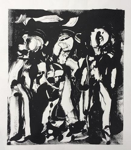 "Josie Lorca - Con La Musica No.33 18x14"""