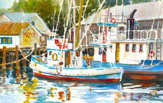 Sally Bookman - Harbor Boats