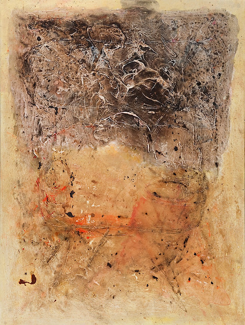 Lou Bermingham - Gold is the Earth 48x36""