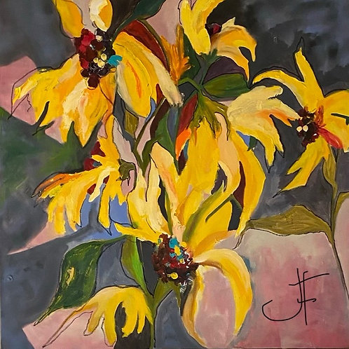 "Jane Ferguson - Wild and Wonderful, 48x48"""