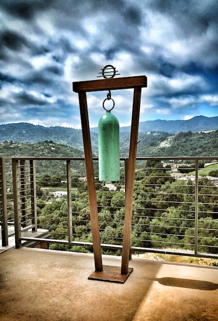 """SOLD Jeff Owen - Peace Bell , 66x27x12"""" 75lbs"""