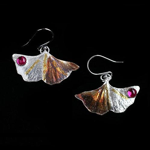 Himani Natu - Ruby Ginko Earrings