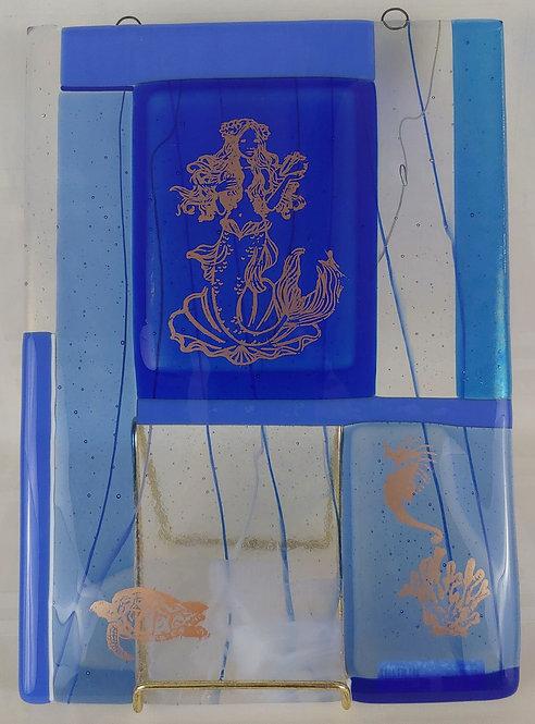 "Heather Richman - Ocean Blue, 12x9"""
