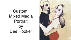 SOLD - Dee Hooker, Commissioned, Original, Portrait