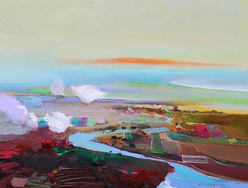 John Maxon - Time and Again, 30 x 40 inches