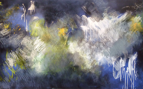 """Beth Shields - Into the Blue, 36""""x60"""""""