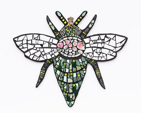 "Susan Megorden - Blooms and Bees, 36x30x4"""
