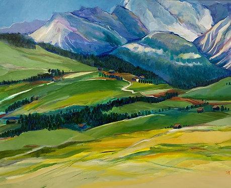 "Merlyn Moreno - Dolomites Italia, 24x36"""