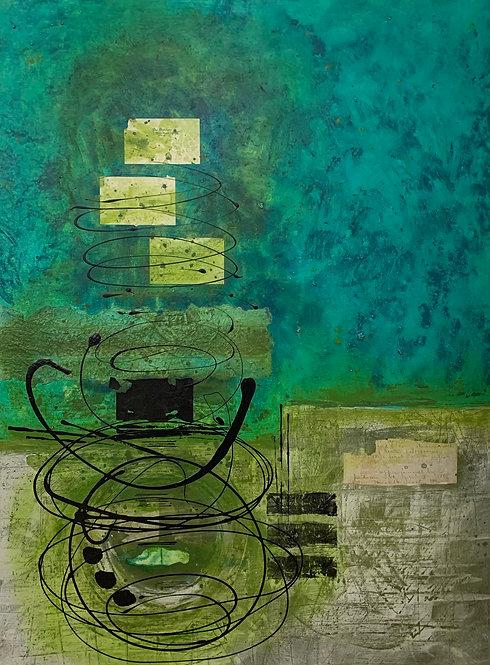 Lorraine Lawson - Fond Memories, 48 x 36 inches