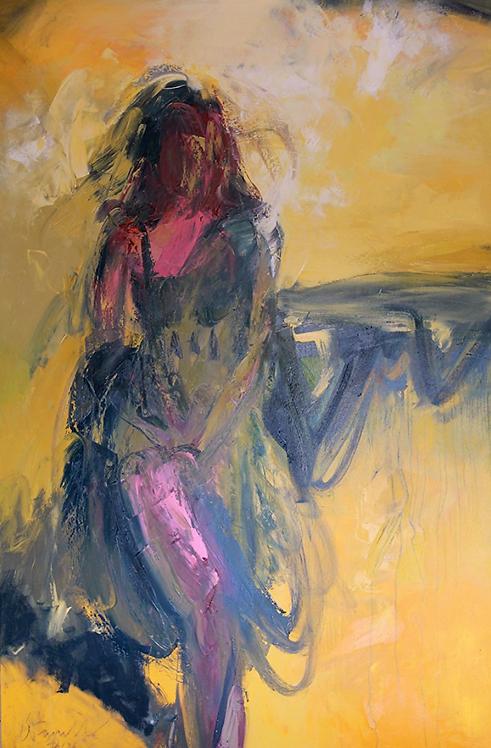 """Ursula O'Farrell - Dancer 72x48"""""""