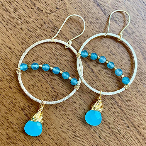 Tahoe Blue Earrings