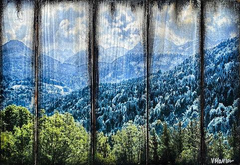 "Veronique Marks - Frog Mountains, 12x18"""