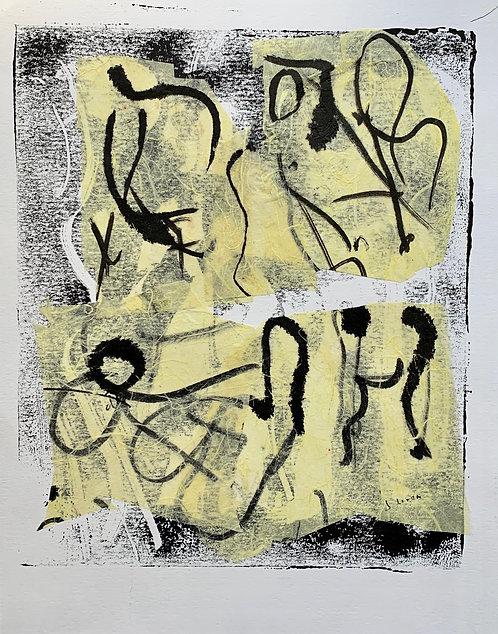 "Josie Lorca - A-Z No. 6 11x14"""