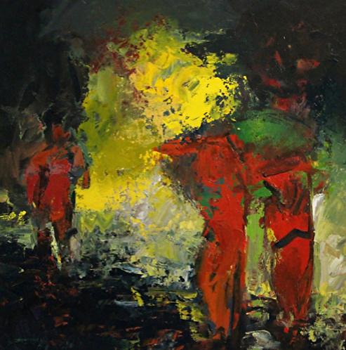 """Ursula O'Farrell - Carry the Dawn, 36x36"""""""