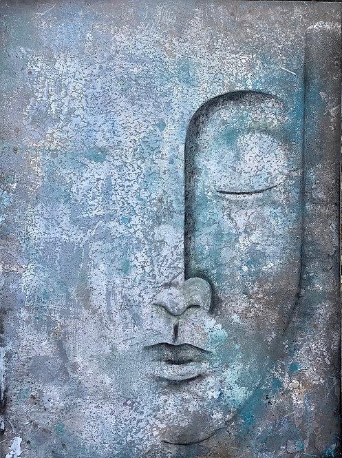 "Melissa Kreisa - Time Travels, 48x36"""