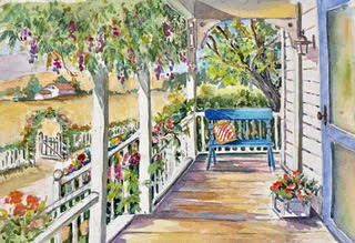 Sally Bookman - Mary's Porch