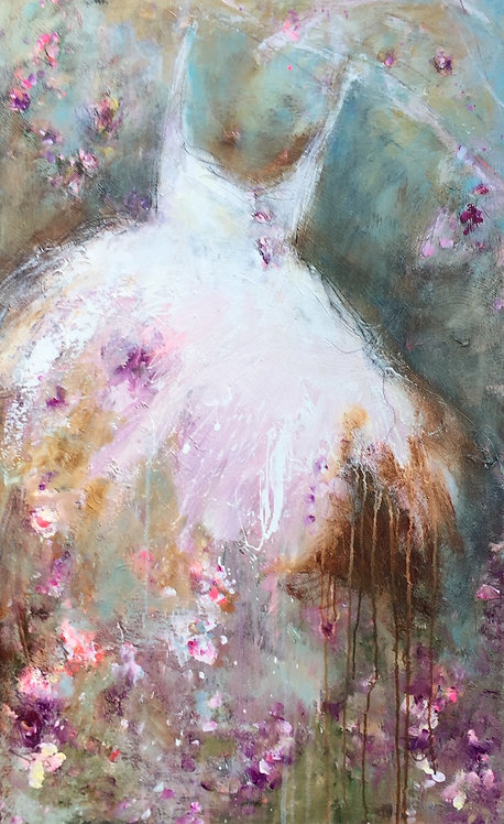 Carrie Clayden - Love Dances 48x36""